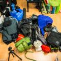 Ausrüstung für den Winterurlaub (Kameratasche fehlt hier noch...)