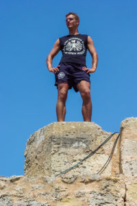 Auf dem Castell de Bellver in Palma de Mallorca