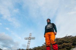 Bei Cabo Froward, dem südlichsten Punkt des Festlandes des amerikanischen Kontinents, Chile