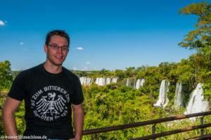 Bei den größten Wasserfällen der Welt: Die Iguazu Wasserfälle in Argentinien