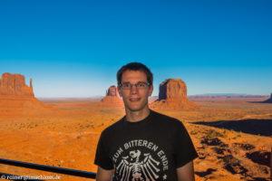 Blick über das Monument Valley, USA