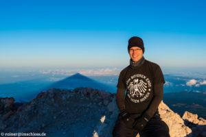 Auf dem Pico del Teide (3718 m) auf Teneriffa, Spanien