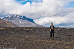 Auf der Askia, dem Hochland von Island