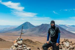 Auf dem Cerro Toco (5604 m) am Rand der Atacama-Wüste in Chile