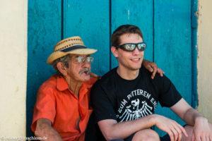 Auf den Straßen von Trinidad auf Kuba