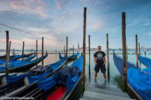 Vor Sonnenaufgang ruht Venedig noch beschaulich